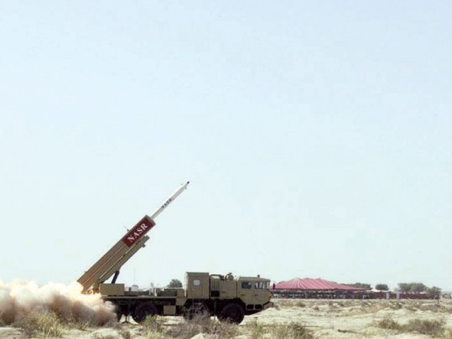 Pakistan Successfully Test Fires Hatf-9 Nasr Missile