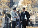 The shooting of Bilal Lashari's first feature film Waar. PHOTO: PUBLICITY