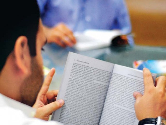 Last year, only 37 people from Sindh passed the exam out of about 900 who qualified countrywide. PHOTO: FILE