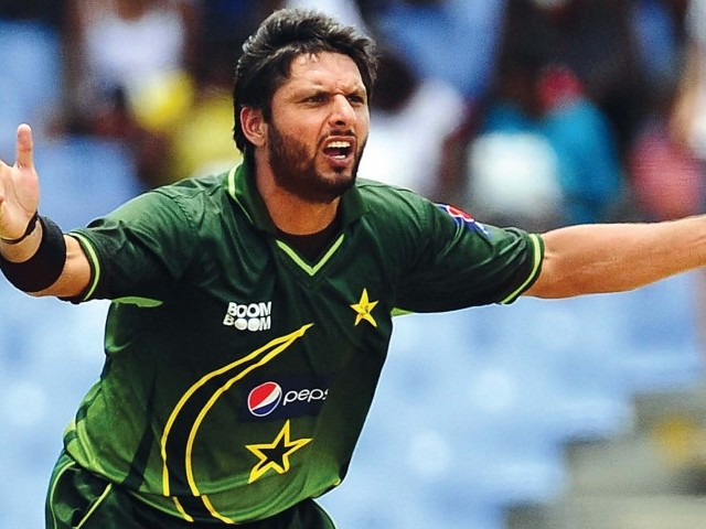 The Pakistan Cricket Board has removed Shahid Afridi as one-day captain for the forthcoming series against Ireland.	PHOTO: AFP/FILE