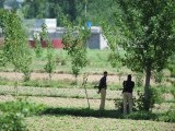 "Pakistani policemen cordon of the area near the hideout of Al-Qaeda leader Osama bin Laden after a ground operation by US Special Forces in Abbottabad on May 2, 2011. Pakistan said that the killing of Osama bin Laden in a US operation was a ""major setback"" for terrorist organisations and a ""major victory"" in the country's fight against militancy. PHOTO:AFP"