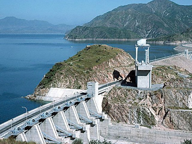 Tarbela Dam, along the Indus River, rises 148 metres high and is 2,743 metres in length. PHOTO: FILE