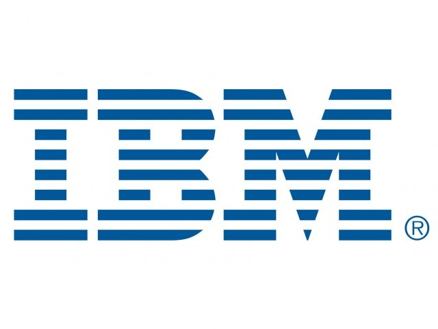 IBM briefly topped Microsoft in market value on Wall Street on Friday.