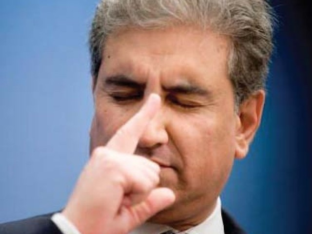 Former foreign minister Shah Mahmood Qureshi. PHOTO: FILE