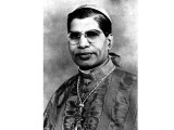 Cardinal Valerian Gracias, the only Cardinal of the Catholic Church from India taken from St Patrick's album. PHOTOGRAPHED FROM SCHOOL RECORDS BY HARIS ZUBERI