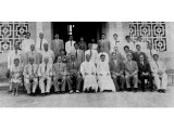 School teaching staff in 1961. PHOTOGRAPHED FROM SCHOOL RECORDS BY HARIS ZUBERI