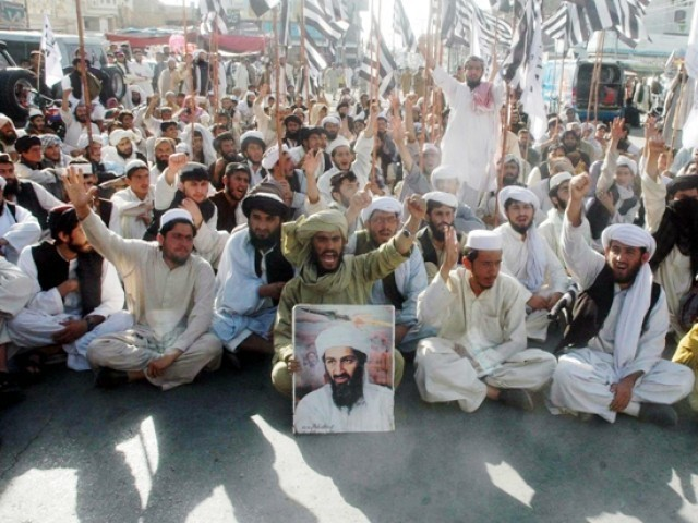 hundreds join quetta rally to honour bin laden the. Black Bedroom Furniture Sets. Home Design Ideas