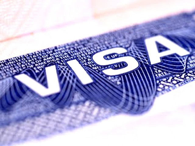Pakistani diplomatic missions in Washington, the United Arab Emirates and London issued the visas after the government came under intense US pressure, officials said. PHOTO: FILE