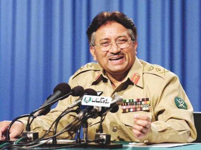 Former president Pervez Musharraf Friday blamed incompetence by the country's intelligence agencies for allowing al Qaeda leader Osama bin Laden to live undetected in Pakistan for years. PHOTO: FILE