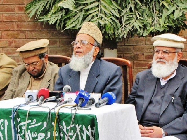 A three member JI delegation led by the JI chief, Syed Munawar Hasan, is currently on a four-day visit to Egypt at the invitation of Ikhwanul Muslimoon chief Dr Muhammad Badei.     PHOTO: ONLINE/FILE