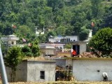 This picture taken on June 7, 2011 shows a general view of the Thathi, the home village of the al Qaeda's reputed military kingpin Ilyas Kashmiri. PHOTO: AFP