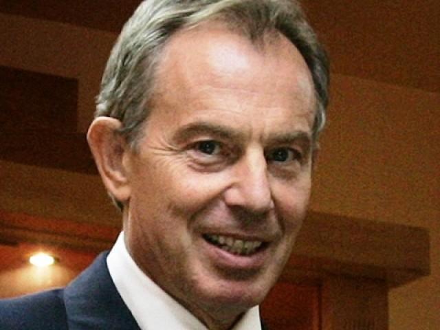 "Former British Premier, Blair reads the quran everday to stay ""faith literate"". PHOTO: AFP"