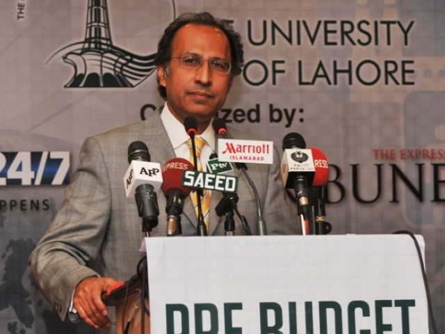 Finance Minister Hafeez Sheikh said Pakistan was unable to meet its target of 4% GDP growth for the year 2011-2012.