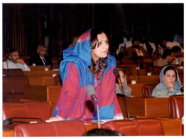 Pakistan Muslim League – Quaid (PML-Q) leader Marvi Memon resigned from her party and the National Assembly on Wednesday. PHOTO: FILE