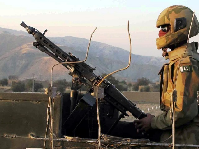 Afghan militants targeted a checkpost in the Shiltalao area of Upper Dir, seven security personnel were killed as a result. PHOTO: FILE