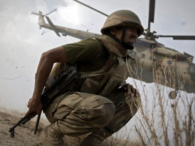 A survey of 3,221 Pakistanis shows 37% of them support military action. PHOTO: AFP/FILE