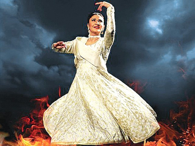 Haal sees Zia's era through the perspectives of a kathak dancer. PHOTO: PUBLICITY