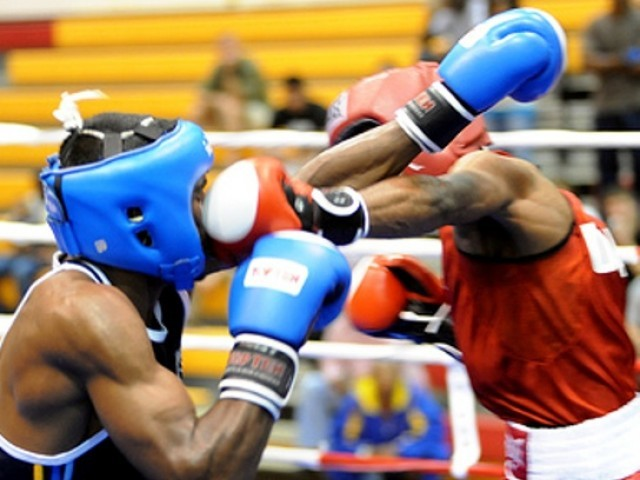 Waseem put up a fight but ultimately failed, as Susa finished the first two rounds with a 16-11 lead. PHOTO: AFP