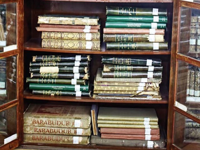 Around 8000 such rare books at Lahore Museum in jeopardy due to lack of funds, poor conservation.