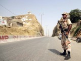 The Sindh government has given shoot-at-sight orders to law enforcers. PHOTO: INP/FILE