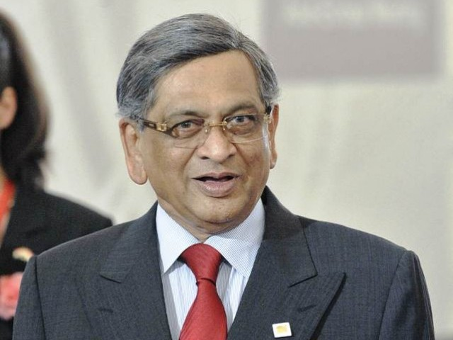 External Affairs Minister S M Krishna said that terror will be on the agenda in forthcoming talks between India and Pakistan. PHOTO: AFP