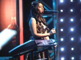 Divya Lewis sings her heart out. PHOTO: MTV INDIA