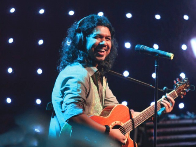 Popon enjoys his performance. PHOTO: MTV INDIA