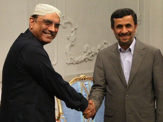 It will be Zardari's second meeting with Ahmdinejad in a span of three weeks. PHOTO: AFP/FILE