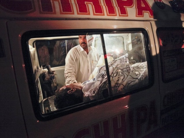 If a person is injured and bleeding profusely, ambulances here do not have the kind of equipment and first aid or trained staff who can control it. PHOTO: REUTERS