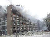 The prime minister's office and other buildings in Oslo heavily damaged.  PHOTO: REUTERS