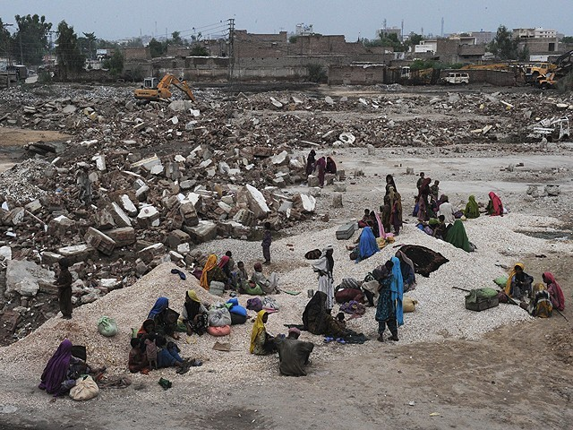 About 21 million people were affected by the worst floods in Pakistan and tens of thousands of people are still living in emergency camps. PHOTO: AFP/FILE