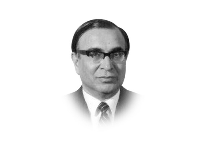 The writer was foreign secretary from 1989-90 and is a former chairman of the Institute of Strategic Studies in Islamabad