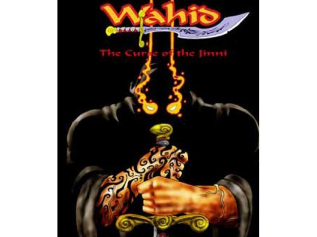 Cover of Wahid, a graphic novel Jamal Khurshid wrote and illustrated.