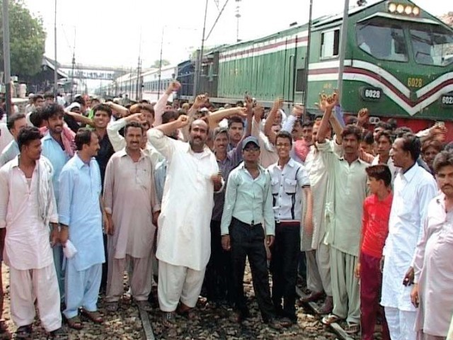 The Pakistan Railways (PR) is another one of the loss-making giants of the state sector. PHOTO: EXPRESS/FILE