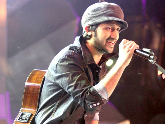 Atif Aslam and Rahat Fateh Ali Khan will sing with Nusrat Fateh Ali Khan's band members. PHOTO: FILE