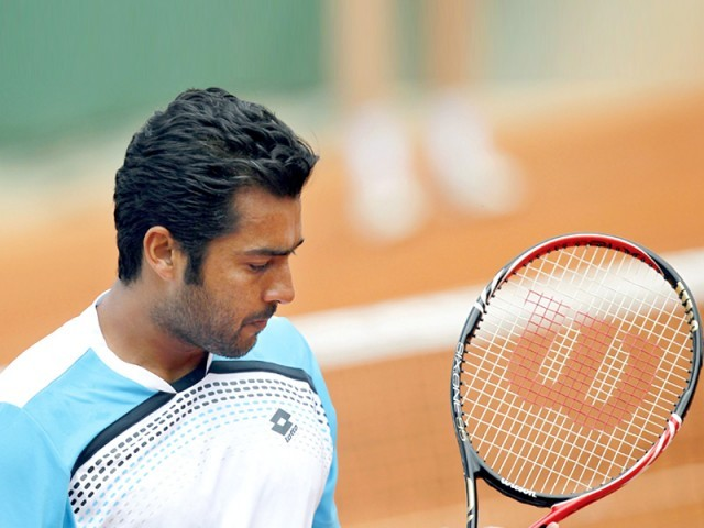 The Indo-Pak Express recorded a 6-4, 7-6 victory over their European opponents. PHOTO: AFP/FILE