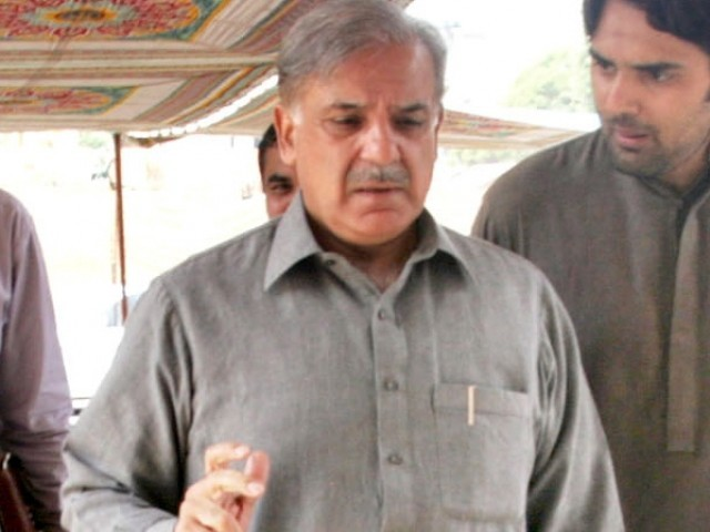 Shahbaz Sharif says a national consensus should be forged to deal with the lawlessness. PHOTO: EXPRESS