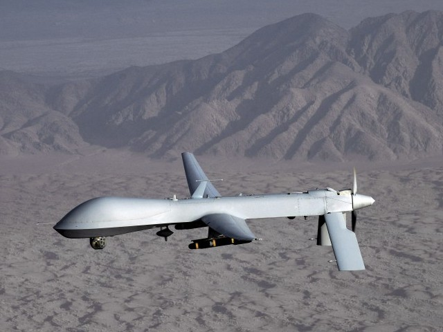 Drone strike in North Waziristan kills five travelling in a vehicle.