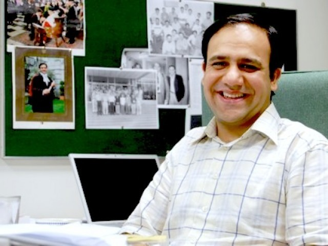 Dr Umar Saif has been recognised for his innovative technology in the developing world. PHOTO: MIT