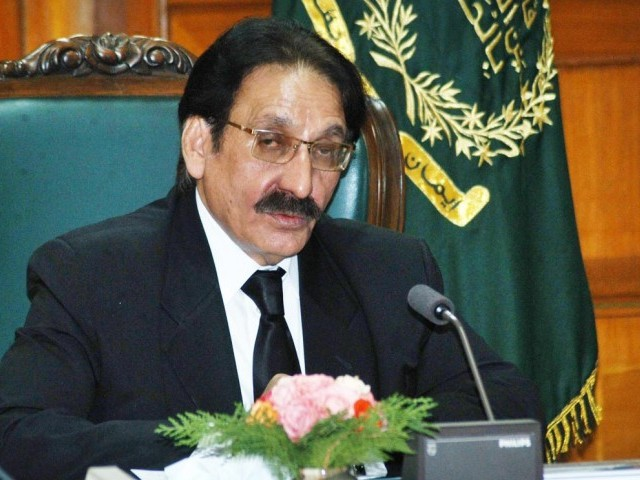 The chief justice wrote in the letter that the president might be unaware of the allegations against Rana at the time of his appointment. PHOTO: ONLINE/FILE