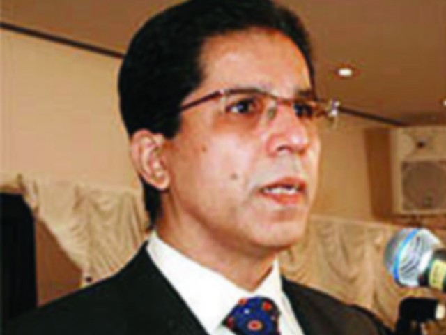 File photo of MQM leader Dr Imran Farooq.