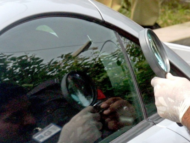 The man's fingerprint matched with that found on a handle of Shahbaz's car. PHOTO: INP/FILE