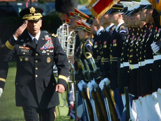 General Petraeus Hangs Up His Uniform The Express Tribune