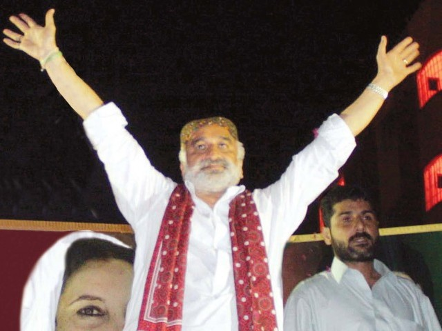 """For every innocent life taken in Karachi, five looters and terrorists would be killed,"" Former Sindh home minister Zulfiqar Mirza PHOTO: PPI"
