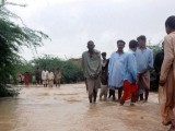 Sindh government announces monetary compensation for flood-hit people. PHOTO: PPI