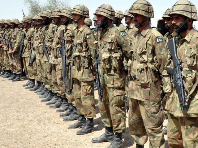 Should the army leave the borders and come to Karachi to help bring normalcy to the troubled city, is the question on everyone's mind these days. PHOTO: EXPRESS