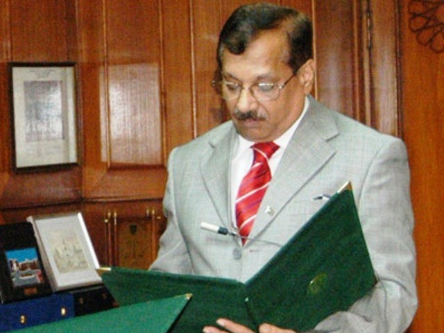 Akhtar Buland Rana was not cleared of harassment charges in an initial inquiry. PHOTO: PID/FILE