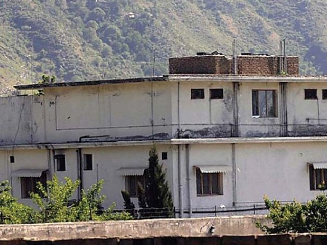 Osama bin Laden's compound in Abbottabad. PHOTO: FILE
