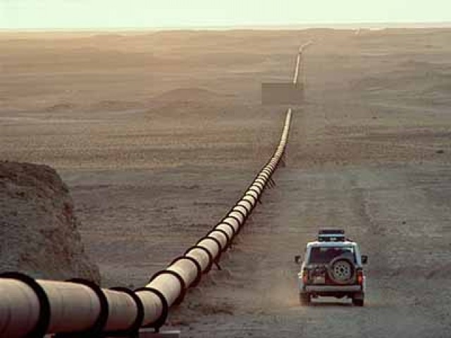 """The proposed Pakistan-Iran pipeline, if built, could raise concerns under the Iran Sanctions Act,"" US Embassy in Islamabad. PHOTO: AFP"