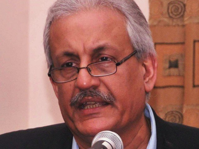 Rabbani blasts centrists, establishment for trying to undo devolution. PHOTO: EXPRESS/FILE